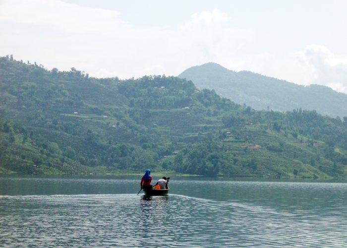 Begnas Lake sailing