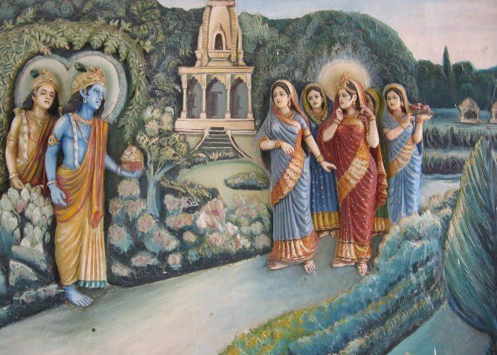 Varanasi Indien Tempel
