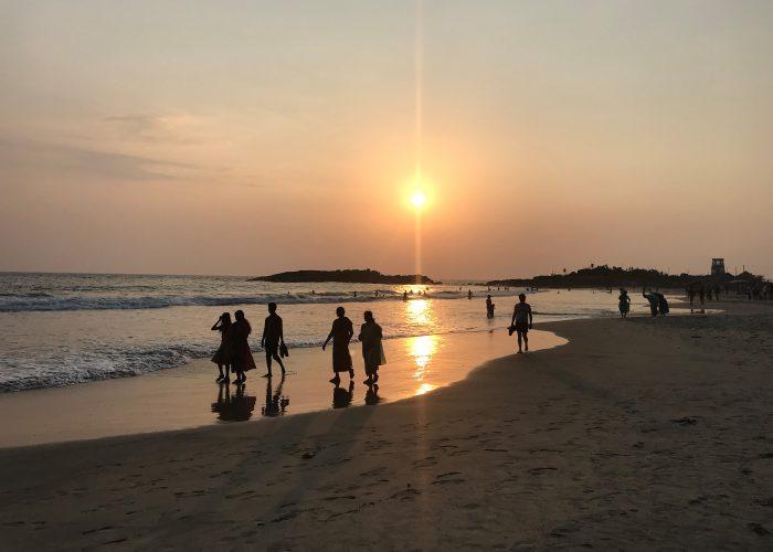Strand Kovalam Indien